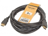 Кабель цифровой HDMI19M to HDMI19M, V1.4+3D, 3m TV-COM <CG150S-3M>