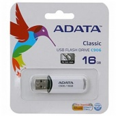 Флеш диск A-Data 16Gb C906 white