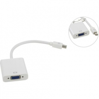 Кабель-переходник Mini DisplayPort (M) -> VGA (F),Telecom (TA6070)