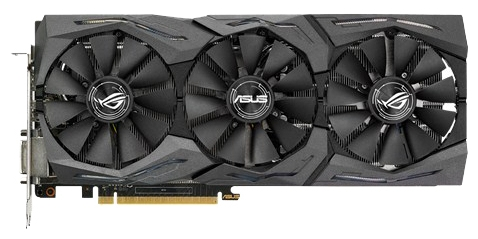Видеокарта Asus GeForce GTX1070 STRIX-8G-GAMING (8192Mb/256b/GDDR5/1531/8008/DVIx1/HDMIx2/DPx2)