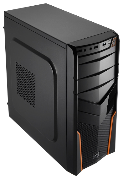 Корпус Deepcool WAVE V2 черный (Midi-Tower/mATX/mini-ITX/2xUSB2.0/1xUSB3.0/Audio)