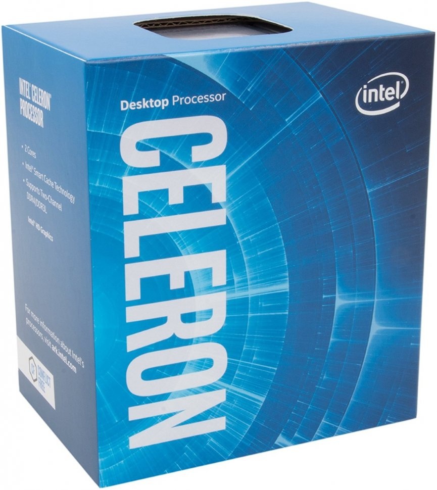 Процессор Intel Celeron G3900 (LGA1151/2.8Ghz/2Mb/HDG510) BOX